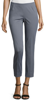 Lafayette 148 New York Stanton Cropped Pants $348 thestylecure.com