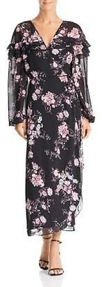 WAYF Floral Wrap Dress - 100% Exclusive