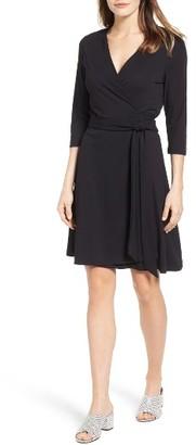 Women's Vince Camuto Jersey Wrap Dress $109 thestylecure.com