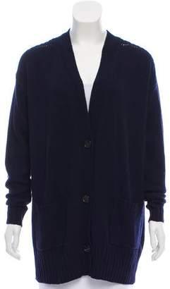 Etoile Isabel Marant Wool-Blend V-Neck Cardigan