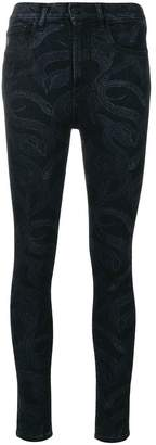 Marcelo Burlon County of Milan Snake skinny-fit jeans