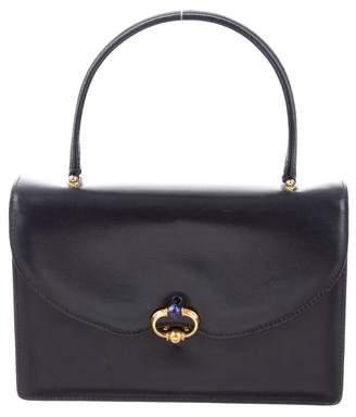 Gucci Vintage Leather Handle Bag