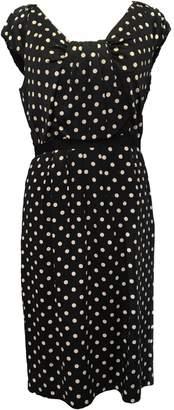 LK Bennett Black Silk Dresses
