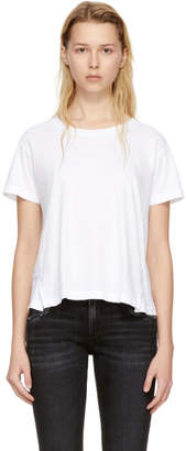 Amo White Twist T-Shirt