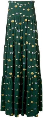 Peter Pilotto full jacquard skirt