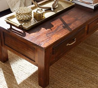 Pottery Barn Bowry Reclaimed Wood Coffee Table Shopstyle Home