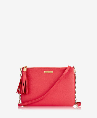 GiGi New York Chelsea Crossbody, Poppy Pebble Grain