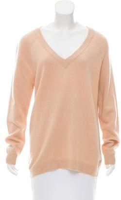 Alexander Wang Wool & Cashmere-Blend Long Sleeve Sweater