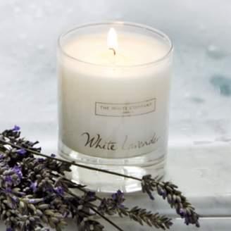 The White Company White Lavender Signature Candle