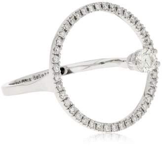 Delfina Delettrez Twins Hoop Ring