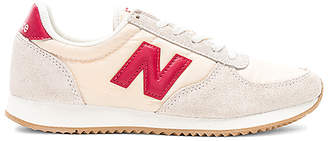 New Balance 220 Sneaker in Beige $65 thestylecure.com