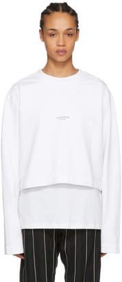 Acne Studios White Odice Sweater