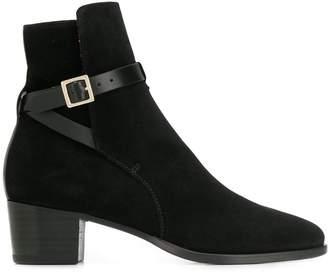 L'Autre Chose buckle ankle boots