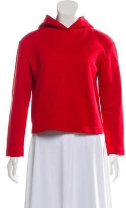 Balenciaga Cropped Knit Sweatshirt