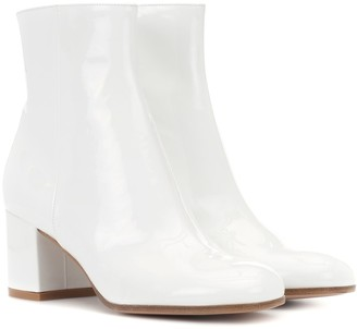 Gianvito Rossi Exclusive to mytheresa.com Margaux Mid patent leather ankle boots