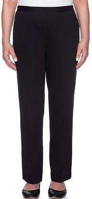 Alfred Dunner Travel Light Woven Pull-On Pants