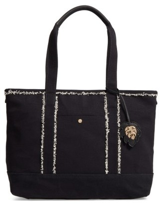 Tommy Bahama Jitney Tote - Black $118 thestylecure.com