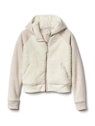 Athleta Girl Sherpa Full Zip Jacket