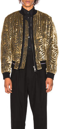 Haider Ackermann Reversible Bomber Jacket