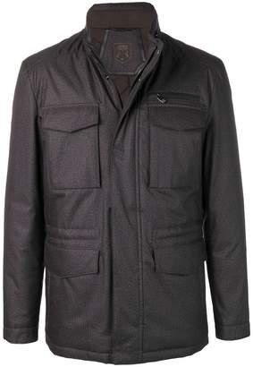 Corneliani fitted coat