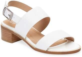 Seychelles Women's Leather Stack-Heel Sandals