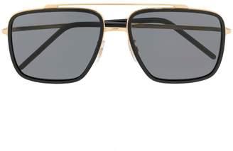 Dolce & Gabbana Eyewear aviator frame sunglasses