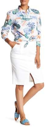 Tommy Bahama Ana Twill Pencil Skirt
