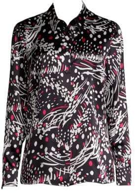 Escada Silk Print Shirt