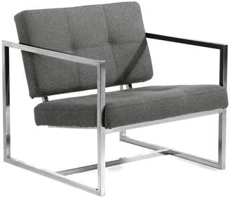 808 Home Modern 1950 Cashmere Cube Chair
