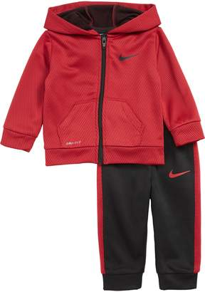 Nike Dry Mesh Face Therma Full-Zip Hoodie & Sweatpants Set