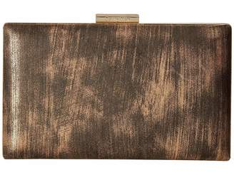 Calvin Klein Brushed Metallic Evening Bag Clutch Handbags