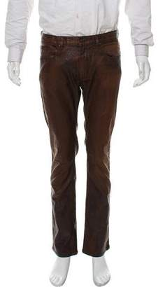 HUGO BOSS Hugo by Woven Waxed Pants