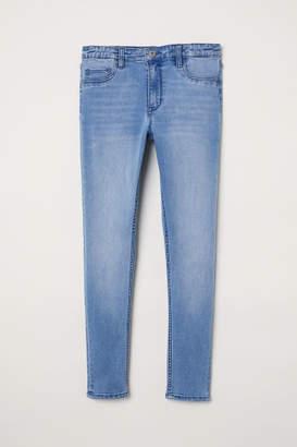 H&M Skinny Fit Generous Size Jeans - Blue