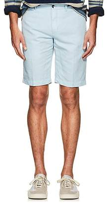 Pt01 Men's Linen-Cotton Bermuda Shorts - Lt. Blue