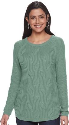 Sonoma Goods For Life Women's SONOMA Goods for Life Raglan Sleeve Pullover