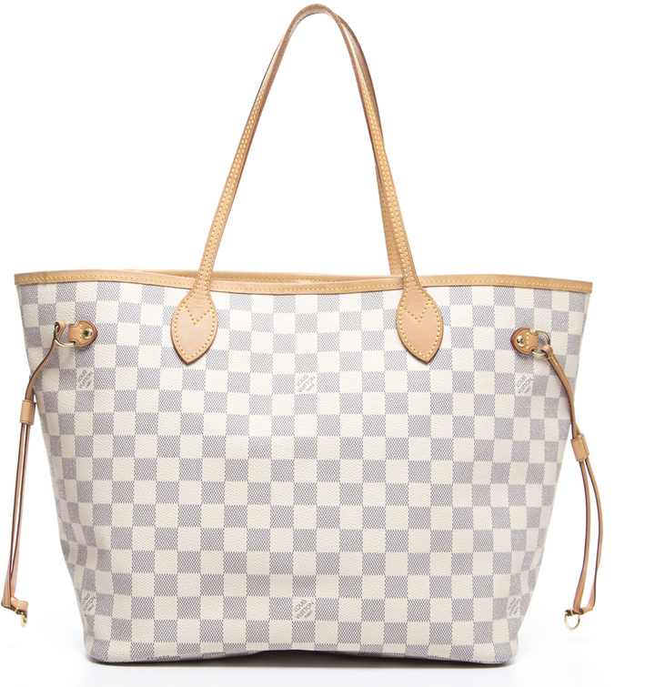 Louis VuittonLouis Vuitton Damier Azur Neverfull MM Bag