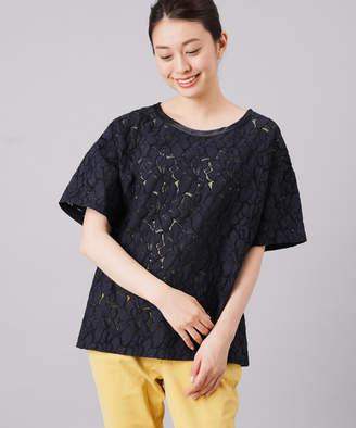 BONbazaar (ボンバザール) - ボンバザール レースTシャツ