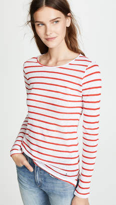 ONE by Stripe & Stare Breton Jersey Long Sleeve Tee