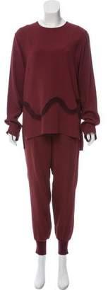 Stella McCartney Long Sleeve Pant Suit