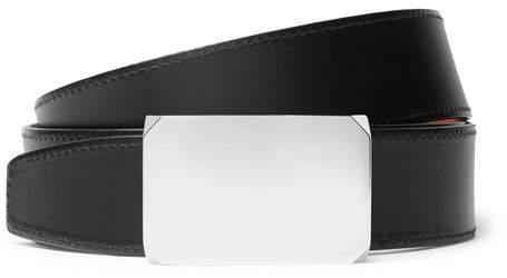 SALLE PRIVÉE 4cm Black And Tan Milton Reversible Leather Belt