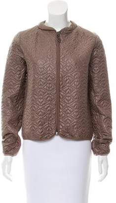 See by Chloe Quilted Long Sleeve Jacket