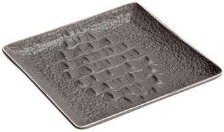 L'OBJET Crocodile Square Porcelain Tray