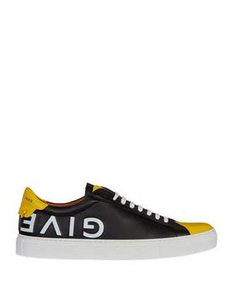 Givenchy Men's Urban Street Logo Leather Low-Top Sneakers