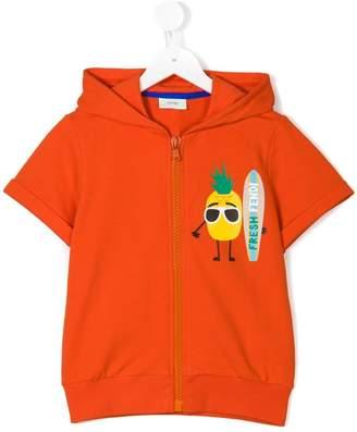 Fendi Kids Fresh zipped hoodie