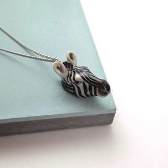 And Mary Zebra Necklace