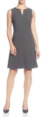 T Tahari Sleeveless A-Line Dress
