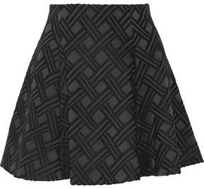 Alice + Olivia Rochelle Jacquard Mini Skirt