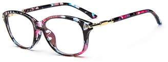 Cat Eye D.King Fashion Womens Cateye Prescription Rxable Eyeglasses Frames
