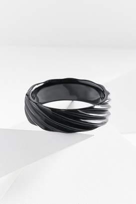 Adia Kibur Riged Resin Bangle Bracelet