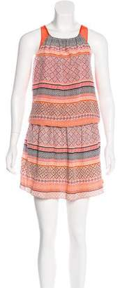 Ramy Brook Printed Silk Dress w/ Tags